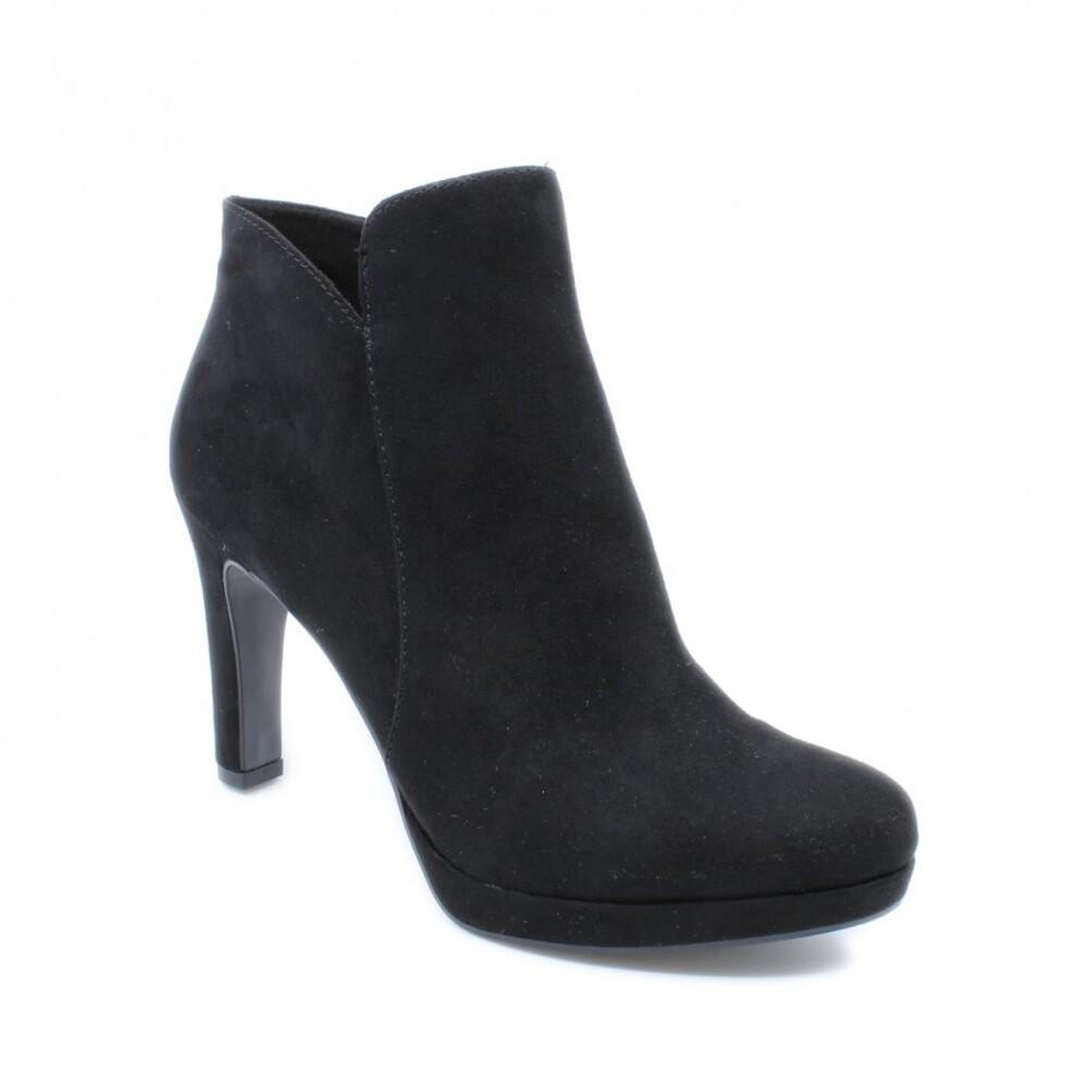 Tamaris kort damestøvle gul 1 1 25316 21