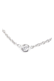 Diamond Mimioui Necklace Metal 18K White Gold