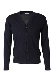 Buttoned Wool Cardigan