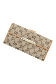 Pre-owned Continental Flap Wallet