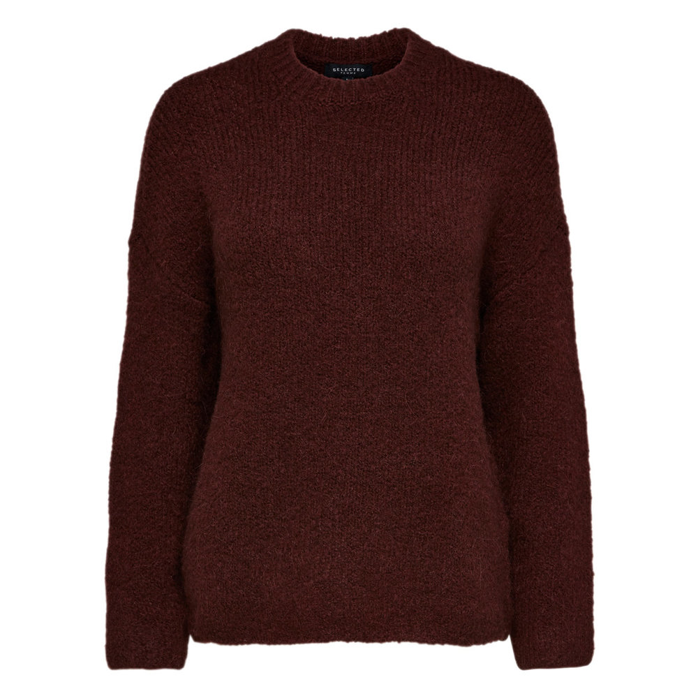 Knitted Pullover Wool mix