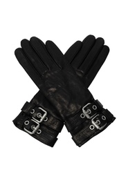 'Oren' leather gloves