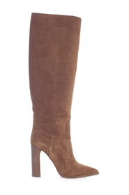 KENTUCKY SUEDE HIGH HEELS BOOTS