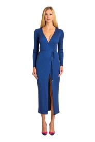 Gebreide jurk gordel