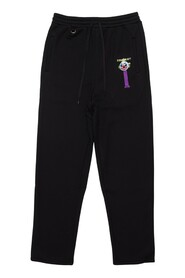 Puppet Embroidery Sweat Pants