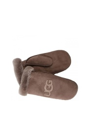Ugg Logo Mitten Charcoal Accessories