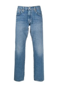 Faded Straight Cut Jeans