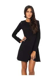 Short dress with studs detail