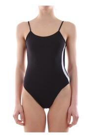 CALVIN KLEIN KW0KW00454 ONE PIECE swimsuit  sea and pool Women BLACK