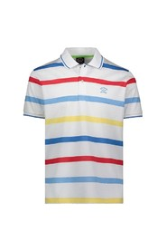 Striped polo shirt