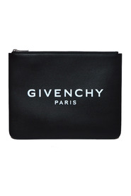 LARGE ZIPPED POUCH LOGO