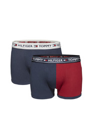 Tommy Hilfiger 2-Pack Trunk Colorblocking Tango Red-Navy Blazer-134-140