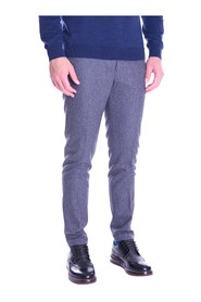 TELE ZED PANTS IN PURE WOOL EDWARD GRAY