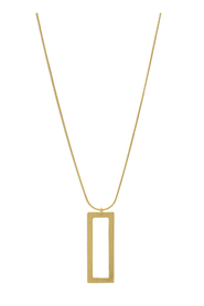 Necklace Theia Open Square