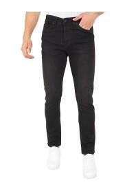 Zwarte Broek Heren Regular Fit - DP01