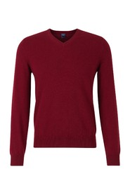 Jumper with  V  neck