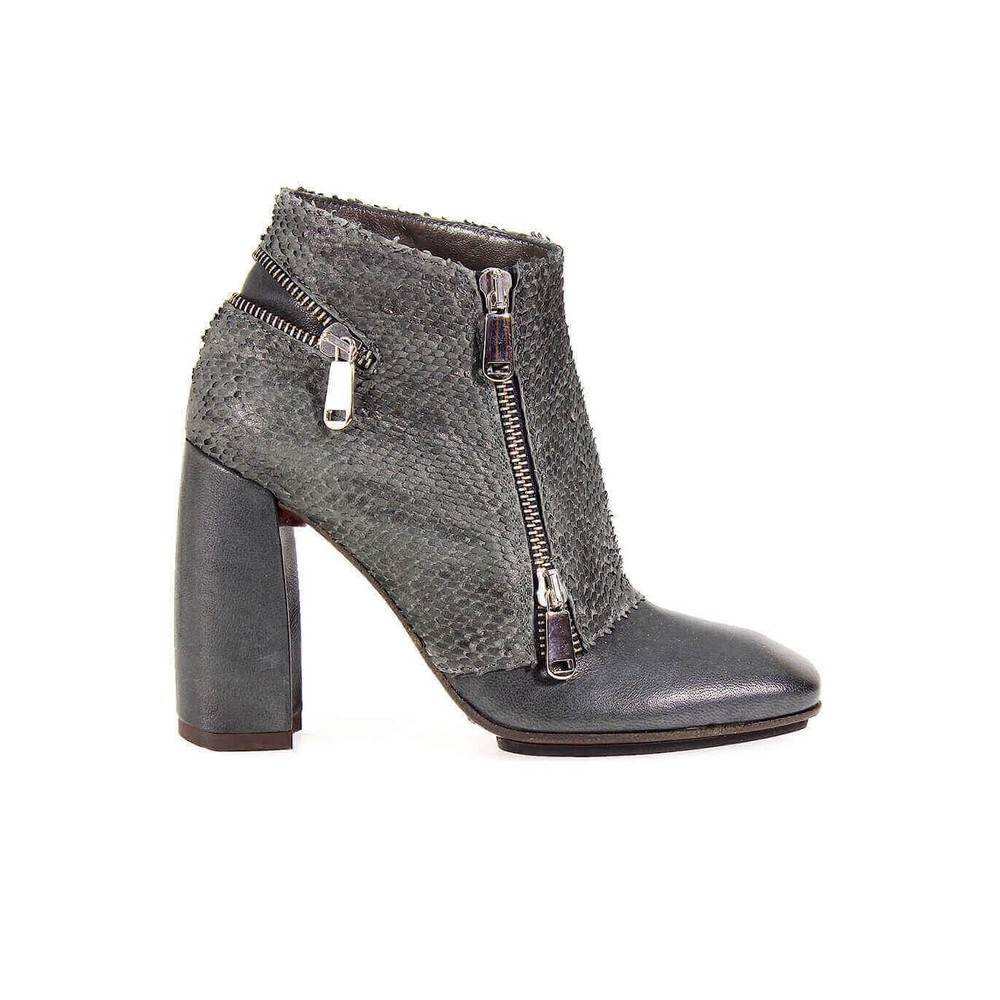 IXOS LEATHER ZIPPERS BOOTIE