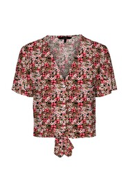 Simply Easy s/s Shirt Tie Top