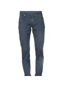 COTTON TRICOTINE TROUSERS
