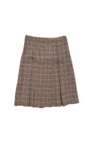 PIED DE POUL PLEATED SKIRT