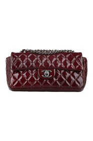 East West Classic Patent Leather Single Flap Bag