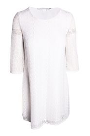 Round Lace Dress With White Lining