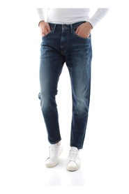 TOMMY JEANS DM0DM06114 MODERN TAPARED JEANS Men DENIM DARK BLUE