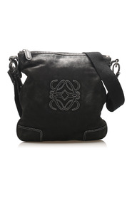Anagram Leather Crossbody Bag