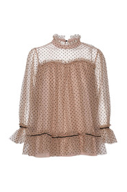 Camille Blouse Dot