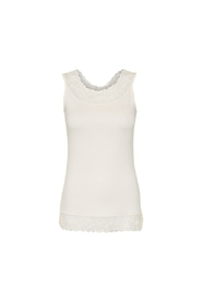Offwhite Cream Florence Singlet