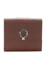 B.Zero1 Leather Small Wallet