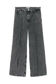 Sewing culotte jeans