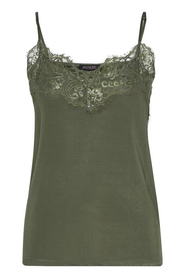 Soaked In Luxury | Clara Singlet Forever Top i army