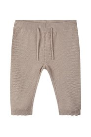 Knit trousers cotton