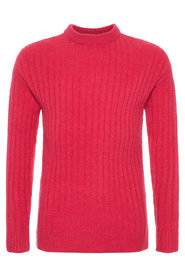 Pullover rib knitted