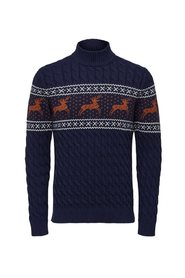 reindeer structure turtleneck