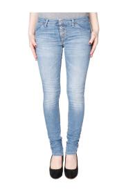 P90 skinny jeans Please/blauw