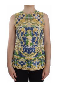 Majolica Embroidered Top