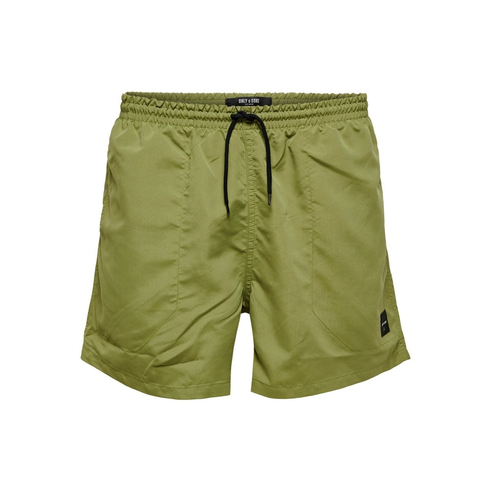 Oliven Only & Sons badeshorts