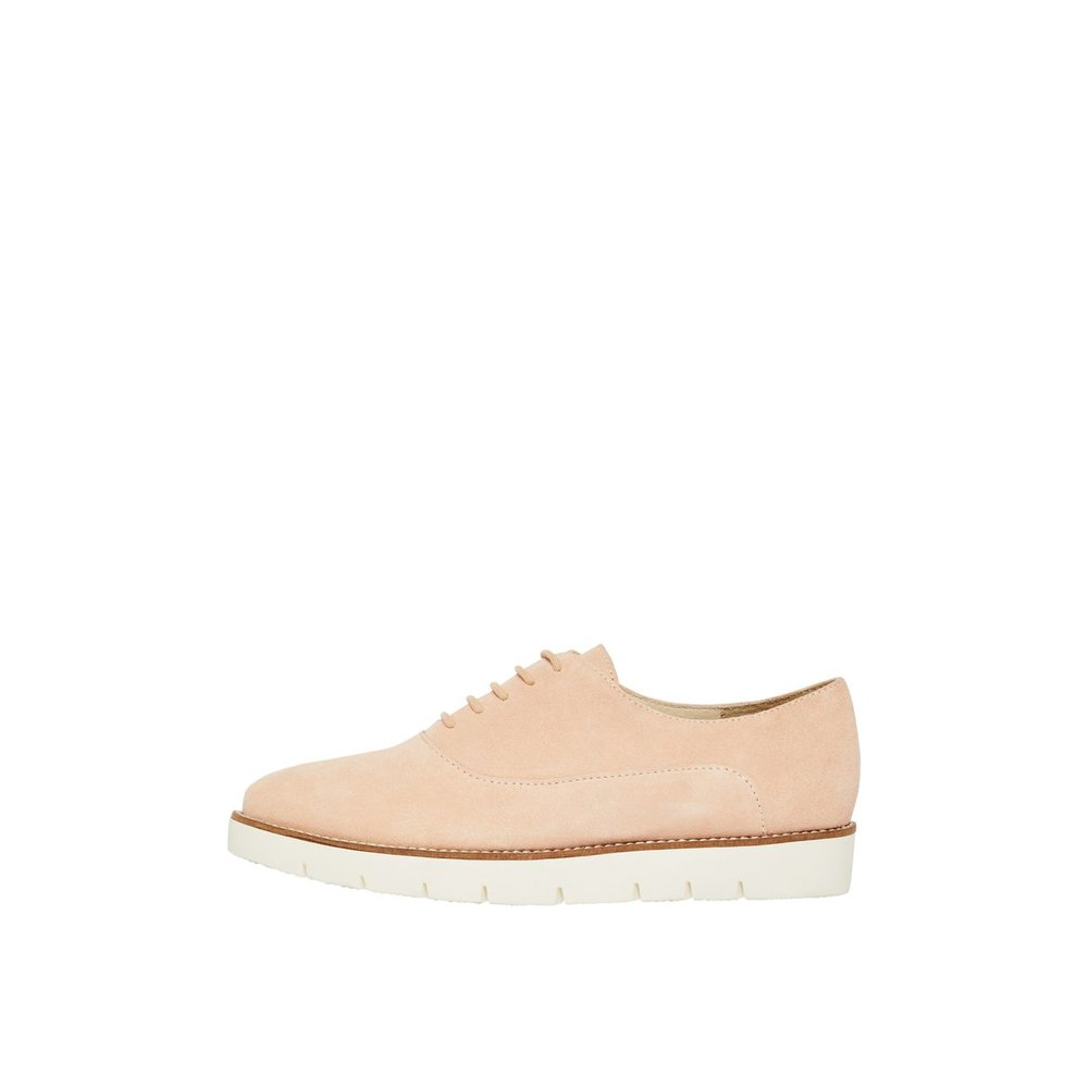 Derby Shoes Lace-up Leather