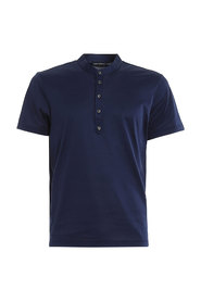 SERAFINO COTTON JERSEY POLO