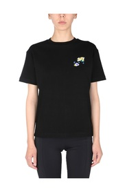 T-SHIRT WITH CHECK ARROWS PRINT