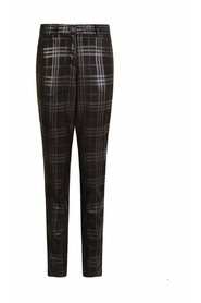 Trousers Slim Coated