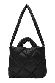 Small Quilted Bag in Synthetic Leather