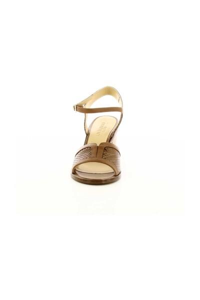 Cognac Ninette   Atelier Content Sandały