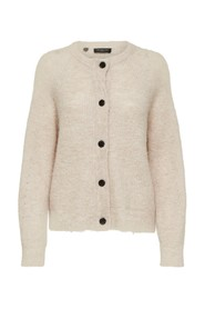 Lulu LS knit short cardigan