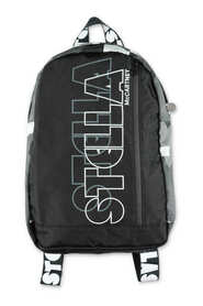 Contrasting panels  backpack