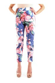 floral cigarette trousers FR20SP157