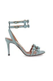 CHOSE BUTTONS HEELED SANDAL