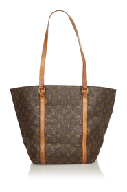 Pre-owned Monogram Sac Shopping 48 Canvas